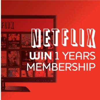 Win A Years Netflix Membership
