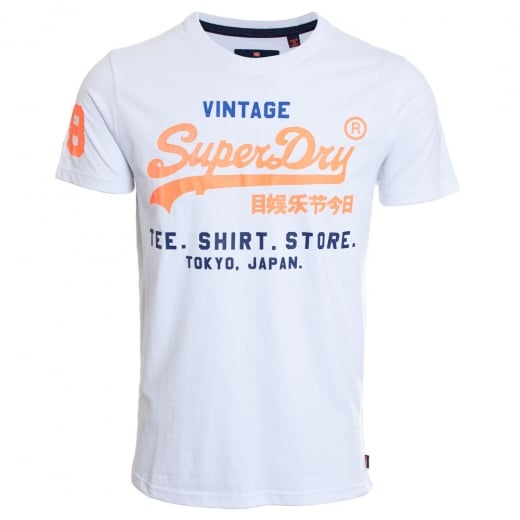 Superdry Shirt Shop Tri T-Shirt Optic