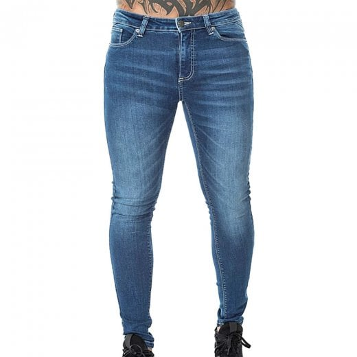 11 Degrees Essential Skinny Jeans Mid Blue