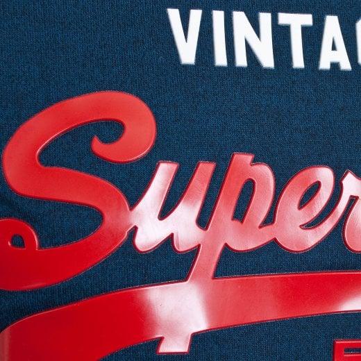 Superdry M10993NT UY9 Shirt Shop Duo Lite Tee Vintage T Shirt Teal Grit