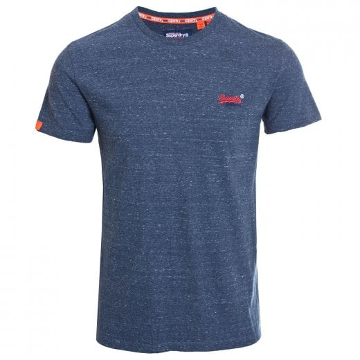 Superdry Orange Label Vintage Embroidery T-Shirt Creek Navy Heather