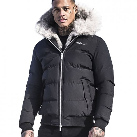 4Bidden Rage Bubble Jacket Black