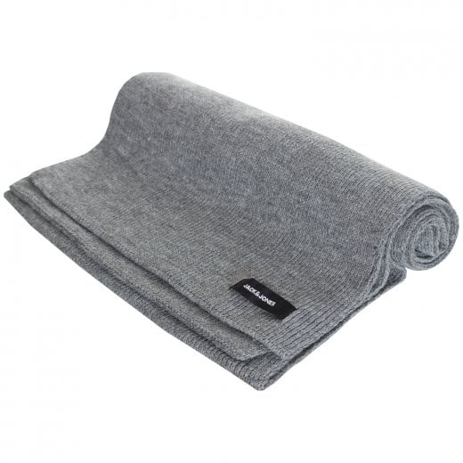 Jack & Jones DNA Scarf Grey Melange