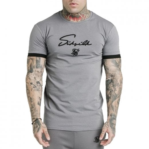 SikSilk Tech T-Shirt Grey