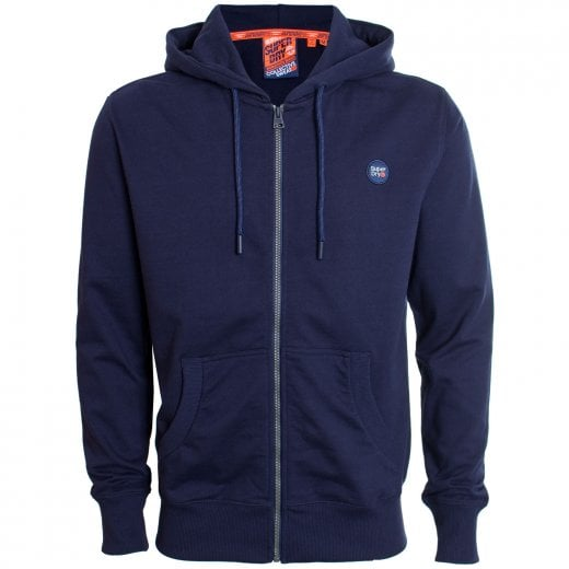 Superdry Collective Zip Hoodie Rich Navy