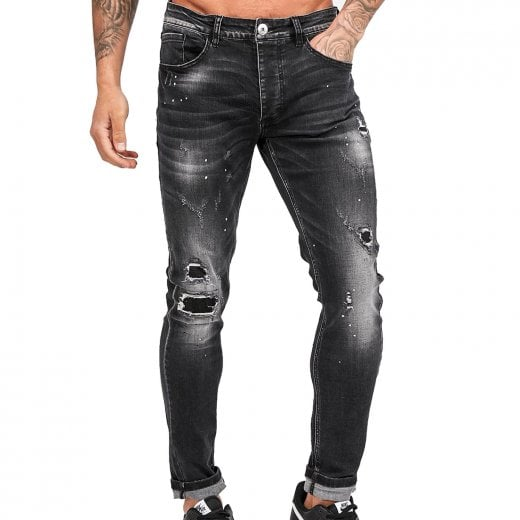 Kings Will Dream Limer Super Slim Jeans Black Wash