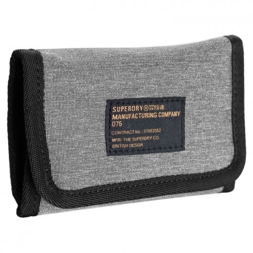 Superdry Detroit Wallet Grey