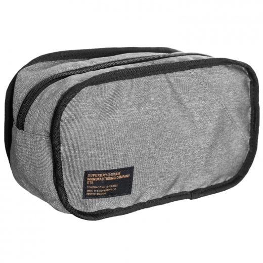 Superdry Detroit Washbag Grey
