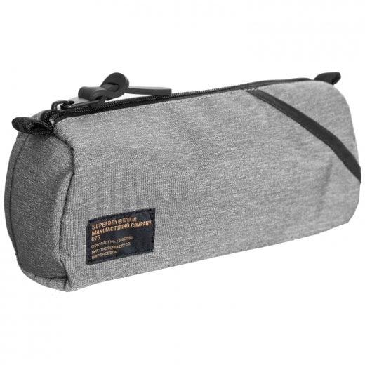 Superdry Detroit Pencil Case Grey