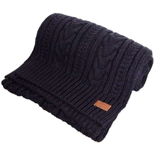 Superdry Jacob Scarf Downhill Navy Twist