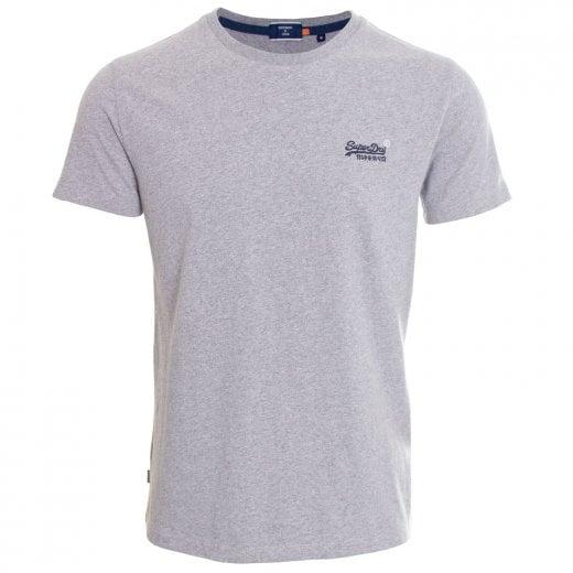 Superdry OL Vintage Embroidery T-Shirt Coastal Pink Grit