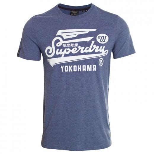 Superdry Military Graphic T-Shirt Meteorite Feeder