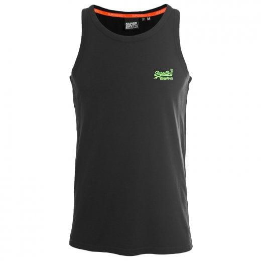 Superdry OL Neon Lite Vest Black