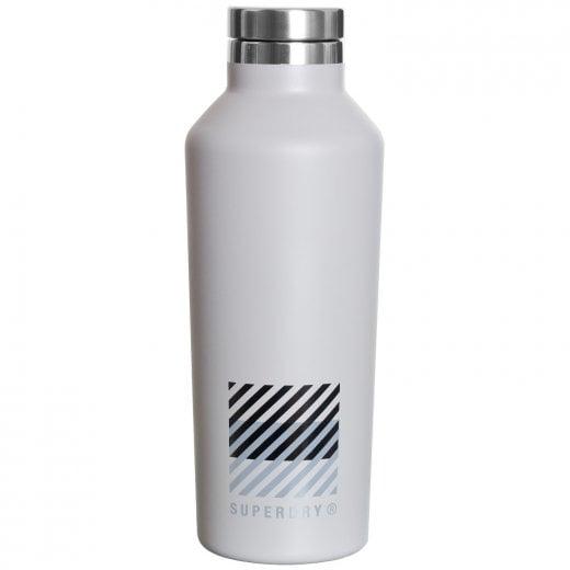 Superdry Training Steel Bottle Frost Grey