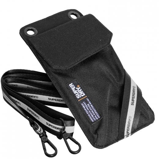 Superdry Phone Pouch Black