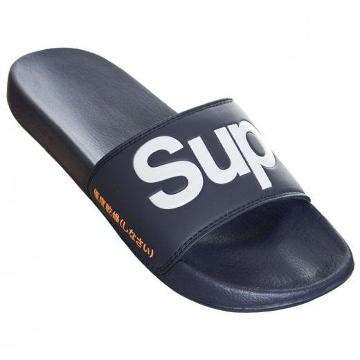 Superdry Classic Pool Slide Lauren Navy