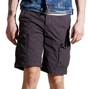 Jack & Jones Preston Cargo Shorts Forged Iron