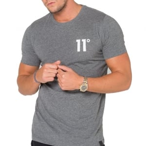11 Degrees Core T-Shirt Charcoal