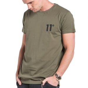 11 Degrees Core T-Shirt Khaki