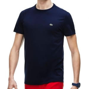 Lacoste TH6709 Crew T-Shirt Navy