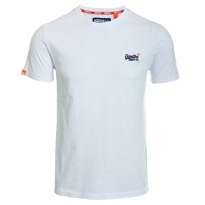 Superdry Orange Label Vintage Embroidery T-Shirt Optic White
