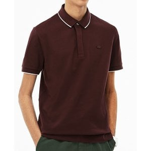 Lacoste PH1282 Piped Stretch Polo Vertigo