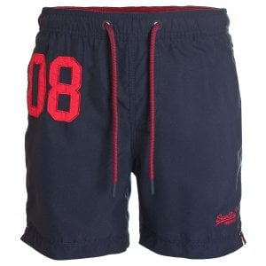 Superdry Water Polo Swim Shorts Darkest Navy