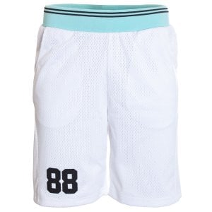 11 Degrees Basketball Shorts White