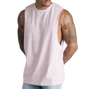 Gym King Stern Jersey Vest Light Pink