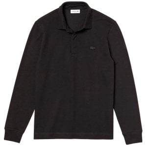 Lacoste PH2481 Paris L/S Polo Black