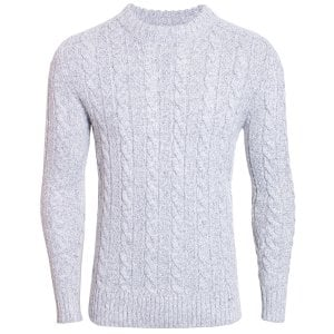 Superdry Jacob Crew Knitwear Concrete Twist