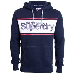 Superdry Retro Sport Hoodie Eclipse Navy