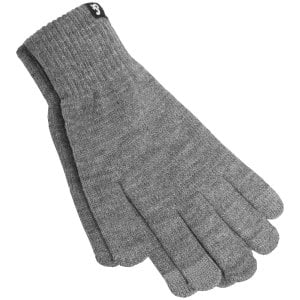 Jack & Jones Barry Knitted Gloves Grey Melange