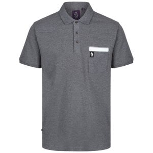 Luke 1977 Mick Prat Polo Grey Marl