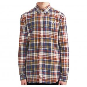 Fred Perry M8582 Tartan L/S Shirt Navy
