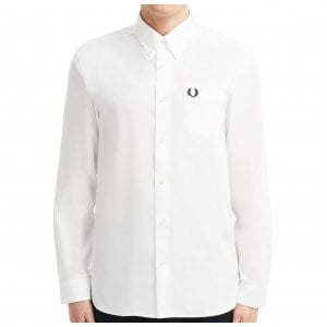 Fred Perry M8501 Oxford Shirt White