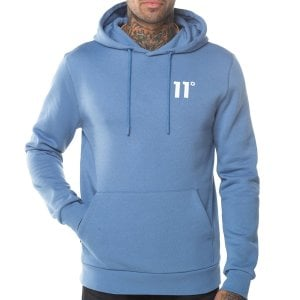 11 Degrees Core Pullover Hoodie Country Blue