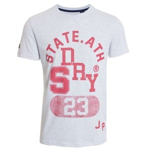 Superdry T&F Classic T-Shirt Ice Marl