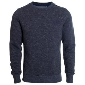 Superdry Orange Label Classic Sweatshirt Eclipse Navy Feeder