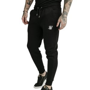SikSilk Muscle Fit Joggers Black