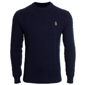 Luke 1977 Carter Johnson Knitwear Dark Navy