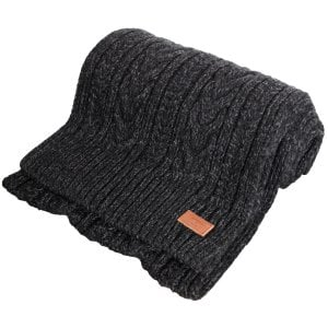 Superdry Jacob Scarf Magma Black Twist