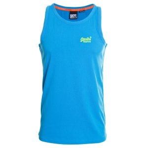 Superdry OL Neon Lite Vest Electric Blue