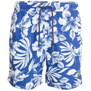 Superdry Campus Hawaiian Swim Shorts Cobalt