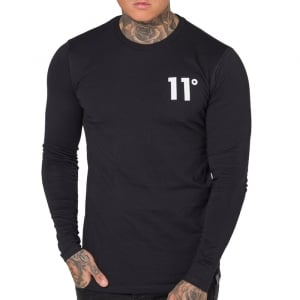 11 Degrees Core L/S T-Shirt Black