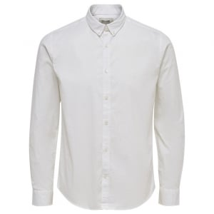 Only & Sons Only & Sons Albiol L/S Shirt White