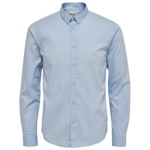 Only & Sons Only & Sons Albiol L/S Shirt Cashmere Blue