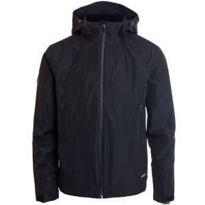 Superdry Hooded Elite Windcheater Jacket Black
