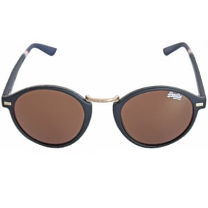 Superdry Ladies SDR Copperfill Sunglasses Rubberised Black/Solid Brown