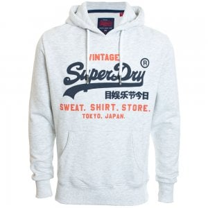 Superdry Sweat Shirt Shop Duo Hoodie Ice Marl